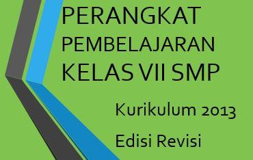 Perangkat Pembelajaran Kelas Vii Smp Kurikulum 2013 Edisi Revisi Tahun Pelajaran 2019 2020 Robihartoni