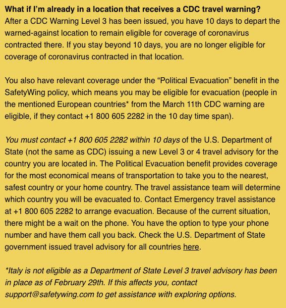 Will travel insurance companies cover coronavirus