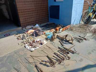 PM e Inema capturam dois caçadores e apreendem sete armas em Formosa do Rio Preto