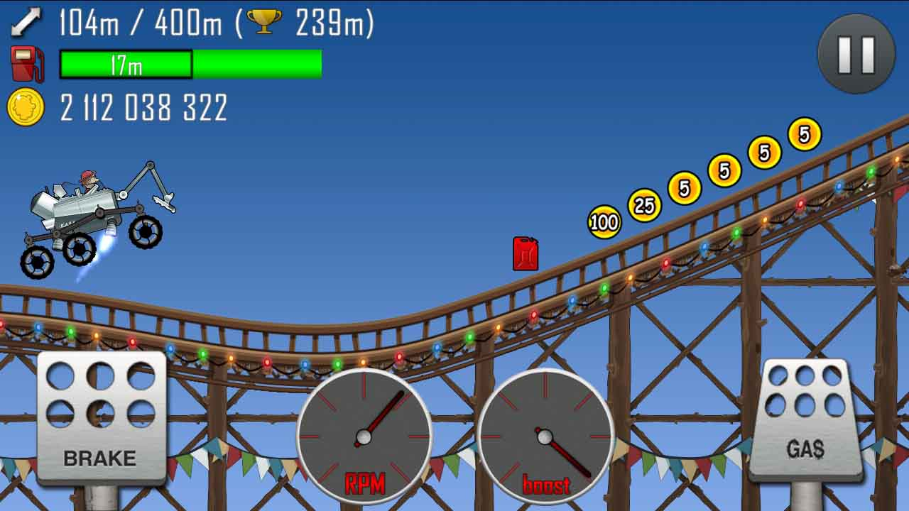 how to get coins in hill climb racing