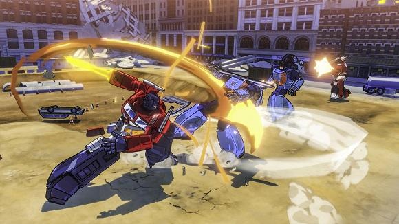 Transformers Devastation PC Full Version Screenshot 3