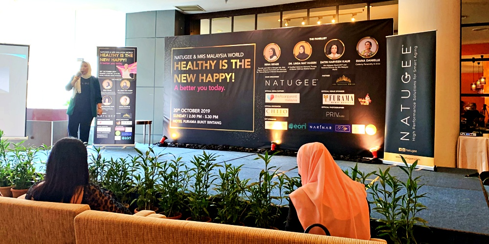 Natugee, Mrs Malaysia World, Organic Beauty, Natural Beauty, Furama Hotel Bukit Bintang, Mental Health, Beauty by Rawlins, Rawlins GLAM