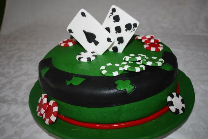 Poker Torte