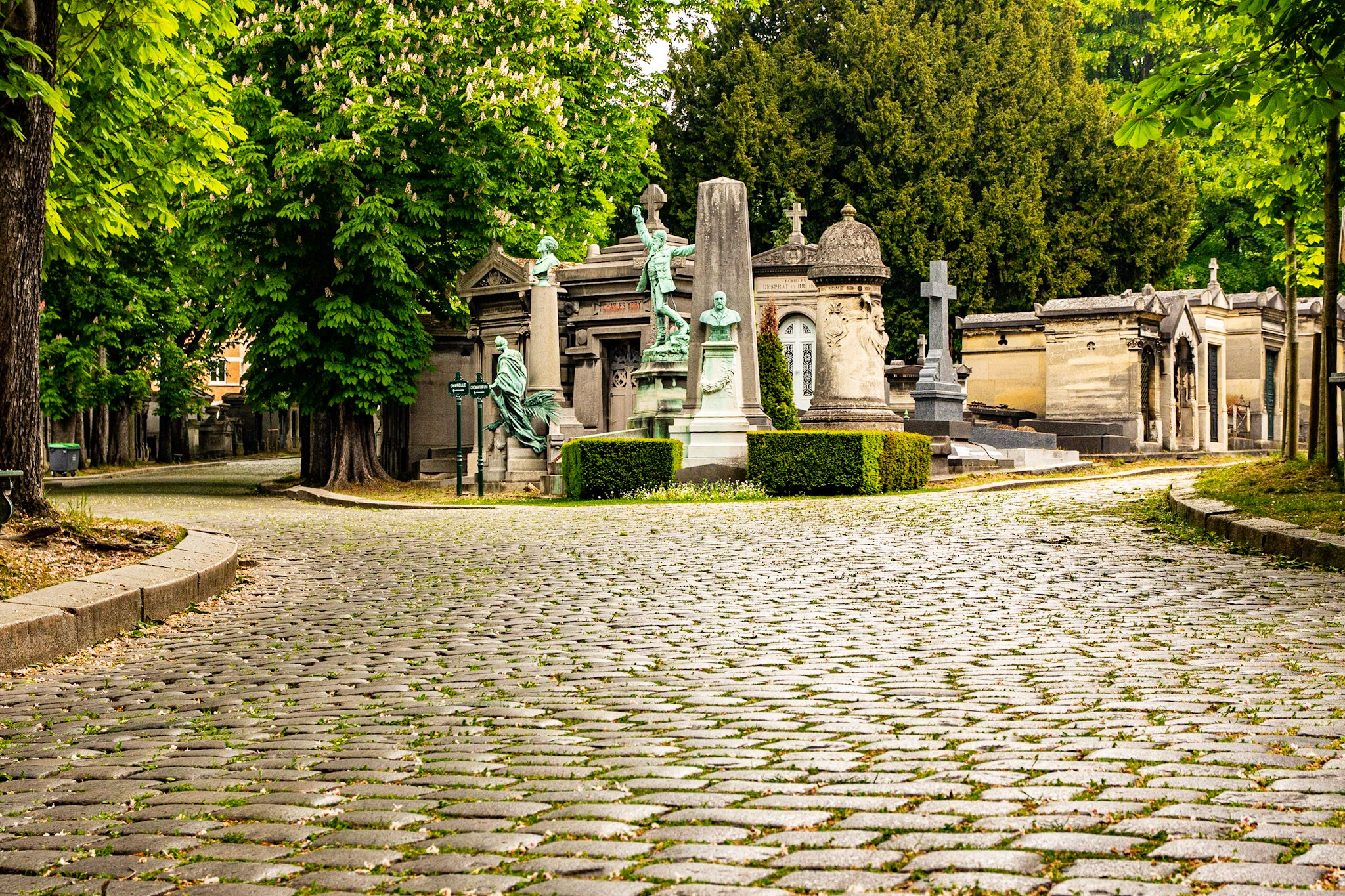 The Cemetery of Père Lachaise (Paris, France)