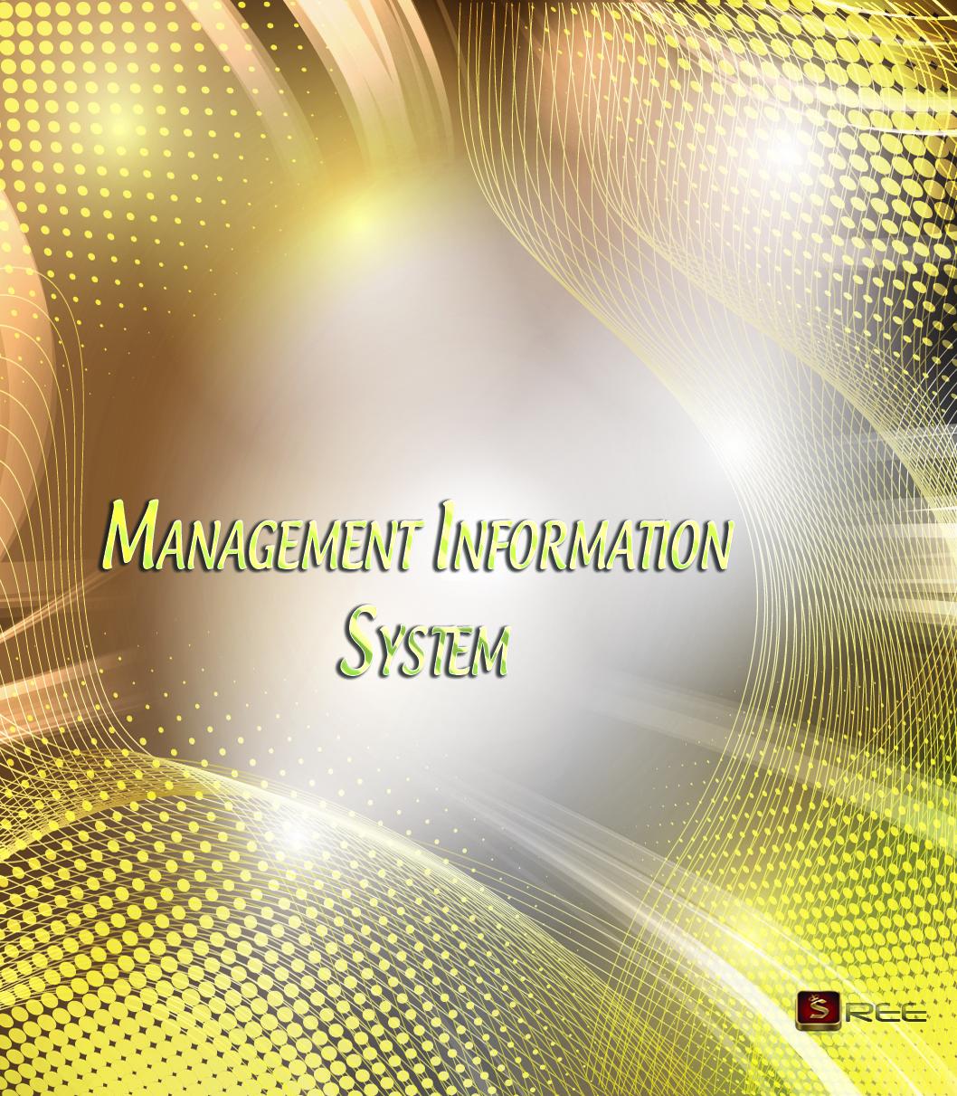 BA9125 Management Information System   ANNA UNIVERSITY MBA