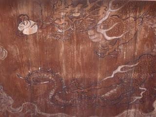 常楽寺雲龍図