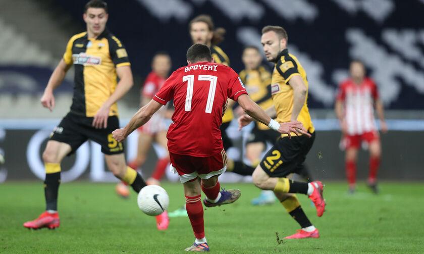 ΑΕΚ - Ολυμπιακός 1-1: Αναλυτική Κριτική των ερυθρόλευκων ποδοσφαιριστών