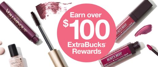 Earn Up to $100 Extrabucks at CVS 98-914