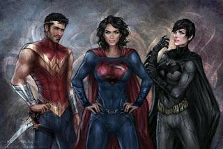 Wonder Woman, Superman, Batman - Rule 63