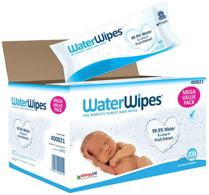 Waterwipes Sensitive Baby Wipes Unscented
