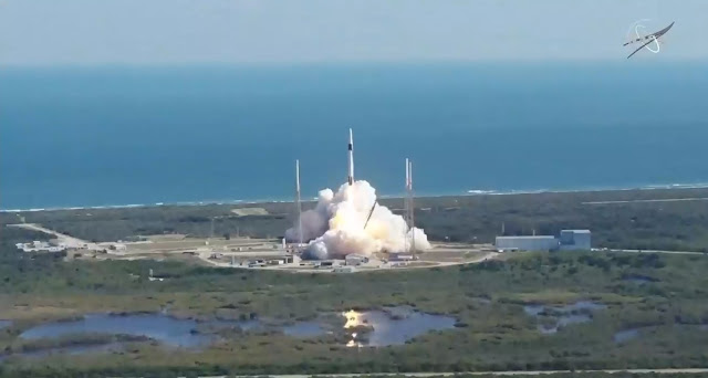 SpaceX launched its 19th cargo resupply mission to the International Space Station at 12:29 p.m. EST Dec. 5, 2019, from Space Launch Complex 40 at Cape Canaveral Air Force Station in Florida.