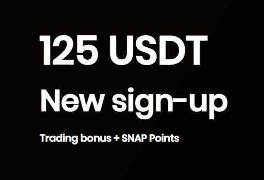Bonus Crypto Tanpa Deposit SnapEx 125 USDT