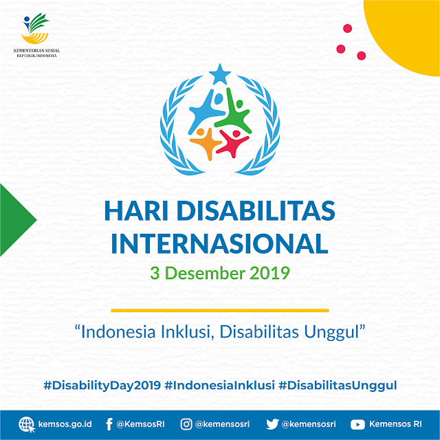Hari Disabilitas Internasional 2019 Bertema Indonesia
