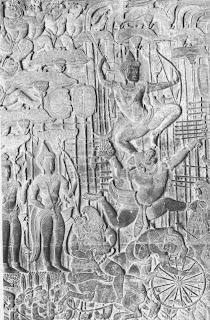 राम आणि हनुमान, मागे लक्ष्मण आणि बिभीषण
