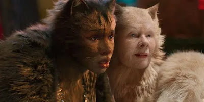 "Jennifer Hudson and Judi Dench star as Grizabella and Old Deuteronomy in ""Cats"" (2019)."