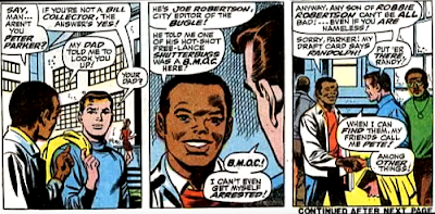 Amazing Spider-Man #68, jim mooney, john romita, peter parker meets randy robertson for the firs time, at ESU