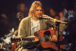Gitar Kurt Cobain Pecahkan Rekor sebagai gitar Termahal, terjual dengan nominal  Rp 85 Miliar wow  fantastis