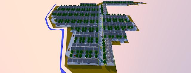 site plan 3d model