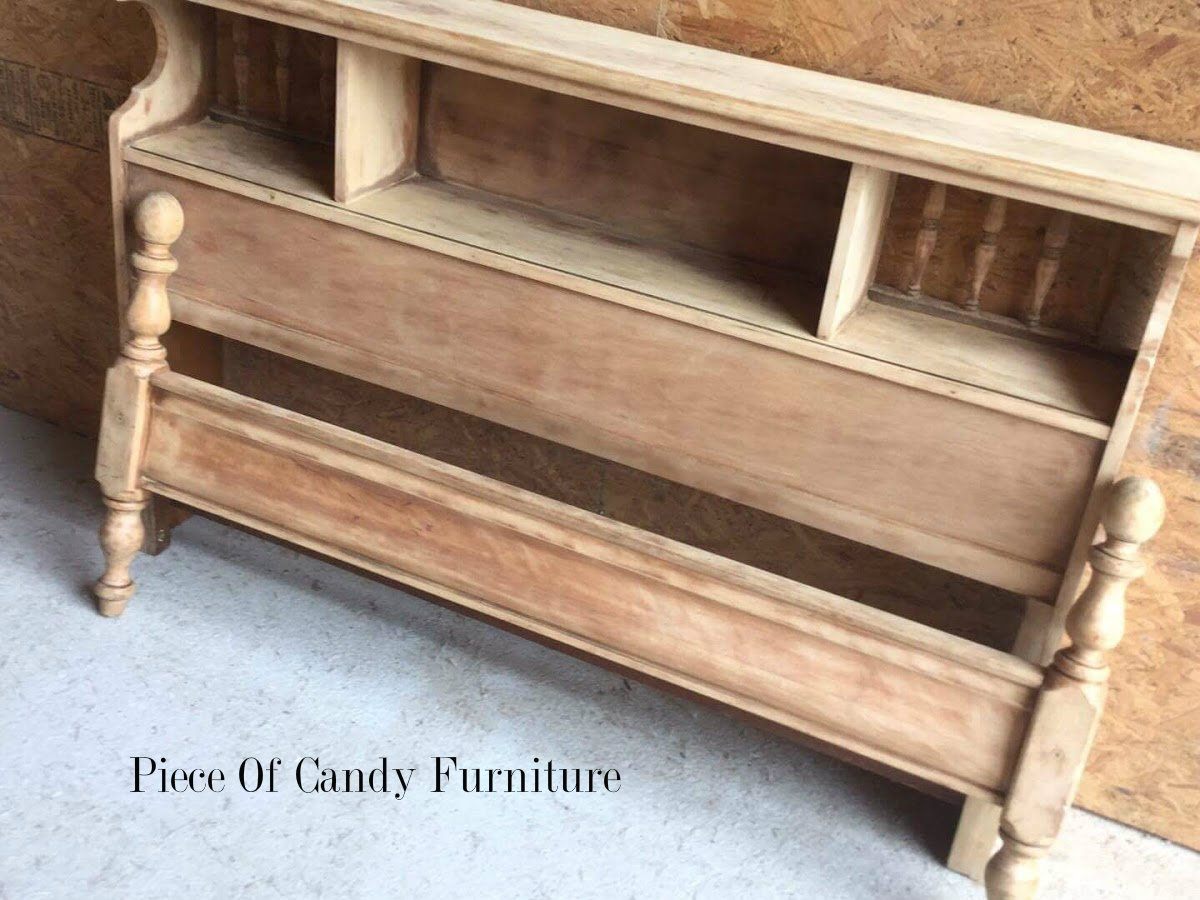 Piece Of Candy Furniture: Stained Navy Blue Bedroom Set