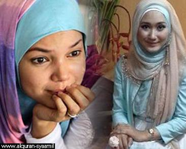 Dian Pelangi Penyemangat Dewi Sandra Berhijab