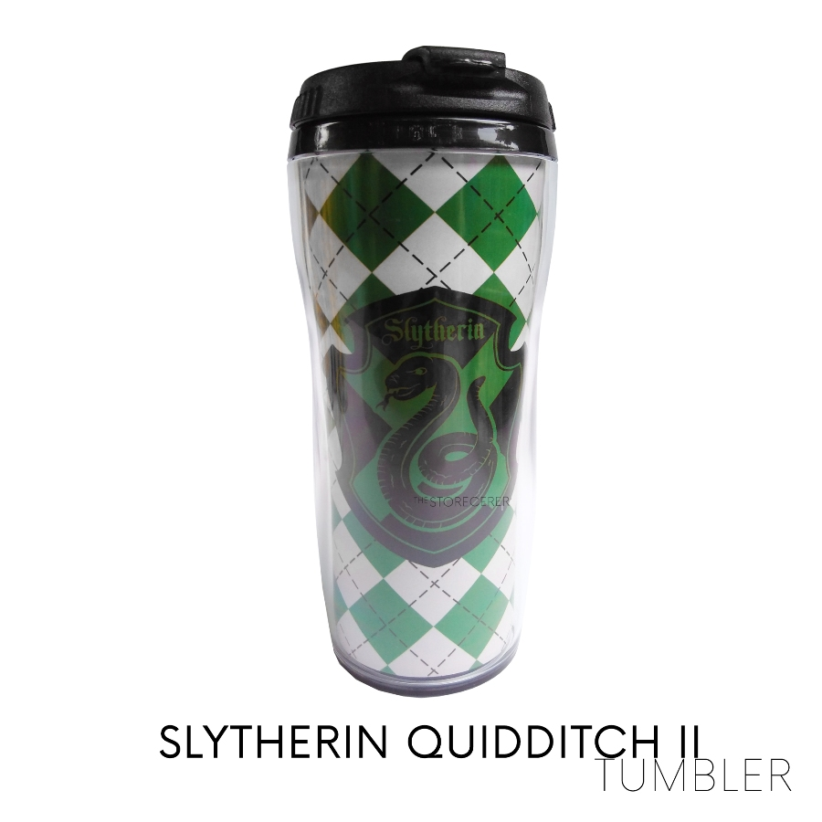 Tumbler Slytherin Quidditch 2