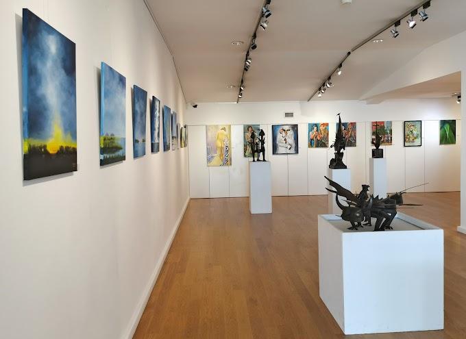 """CAE recebe Exposição """"Desconfinando com Arte"""", pela MAGENTA - Associação dos Artistas pela Arte de 4 a 28 de junho"""