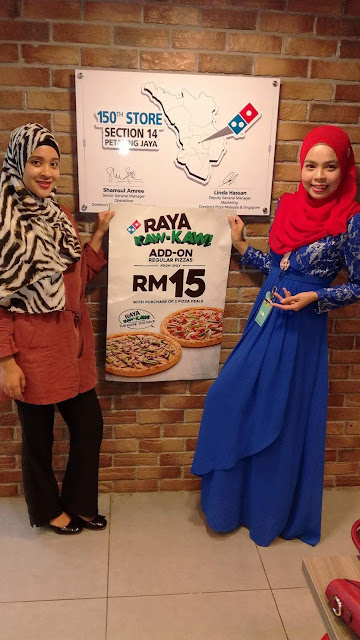 Raya Kaw-Kaw bersama Domino's Pizza