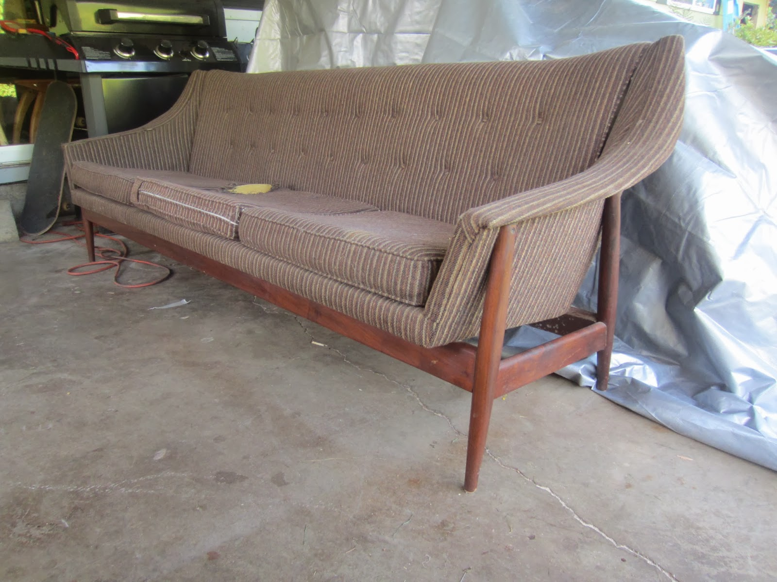 Dux Sofa By Folke Ohlsson Sectional Sofas Dallas Tx Remnant Reupholstered