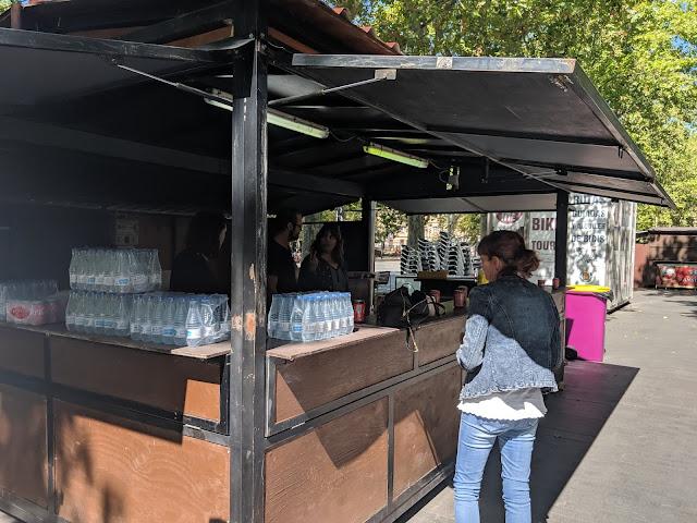 caseta de ferias Restaurante Valladolid