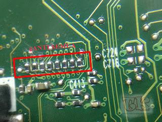 resistor yang rusak mengakibatkan laptop toshiba eror