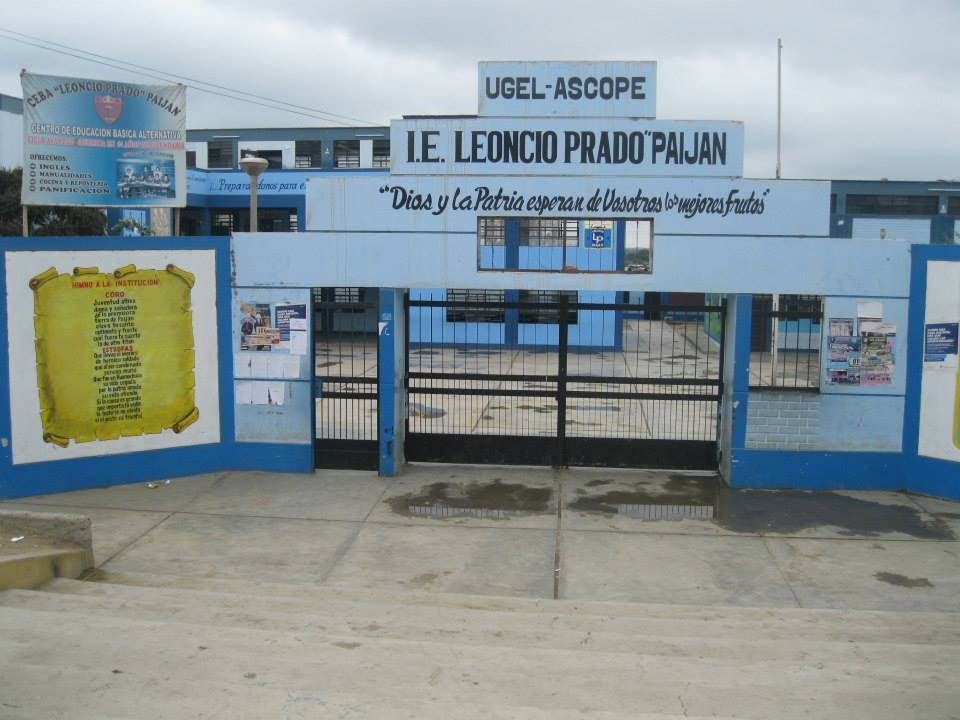 Escuela LEONCIO PRADO - Paijan