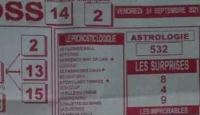 Pronostics quinté pmu vendredi Paris-Turf TV-100 % 24/09/2021