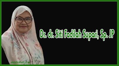 Dr. dr. Siti Fadilah Supari, Sp. JP(K) lahir di Surakarta, Jawa Tengah, 6 November 1949; umur 70 tahun adalah seorang dosen dan ahli jantung yang menjabat sebagai anggota Dewan Pertimbangan Presiden dari 25 Januari 2010 hingga 20 Oktober 2014. Sebelumnya ia menjabat sebagai Menteri Kesehatan Indonesia dalam Kabinet Indonesia Bersatu pimpinan Presiden Susilo Bambang Yudhoyono.