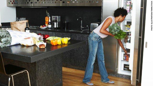 Kitchen Shopping Tips - Fridge List