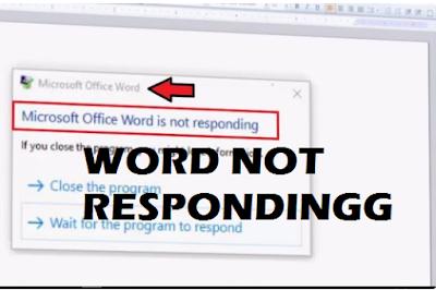 Word Not Responding