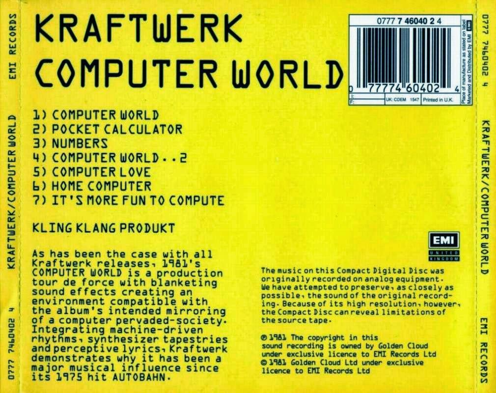 computer love kraftwerk