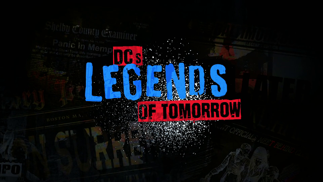 DC's Legends of Tomorrow season 5 titlecard logo