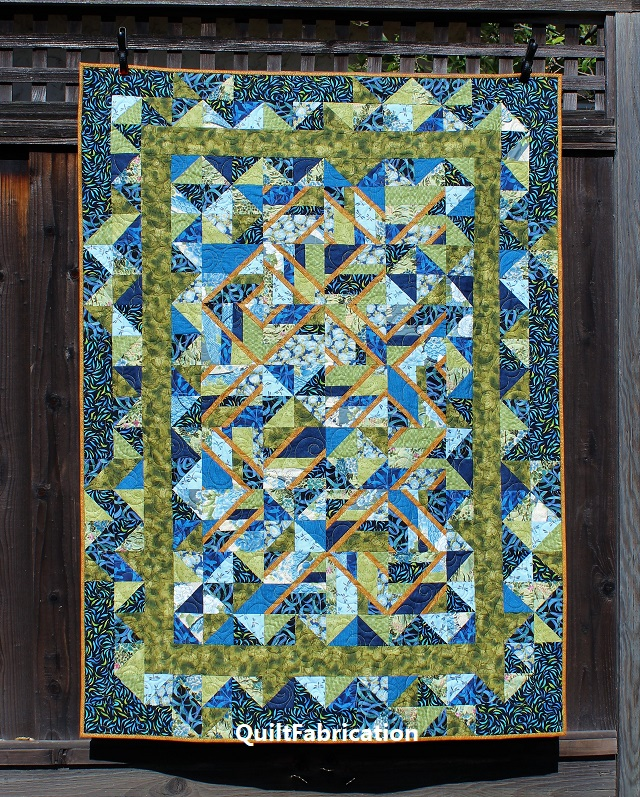Use It Up quilt from Accent on Angles