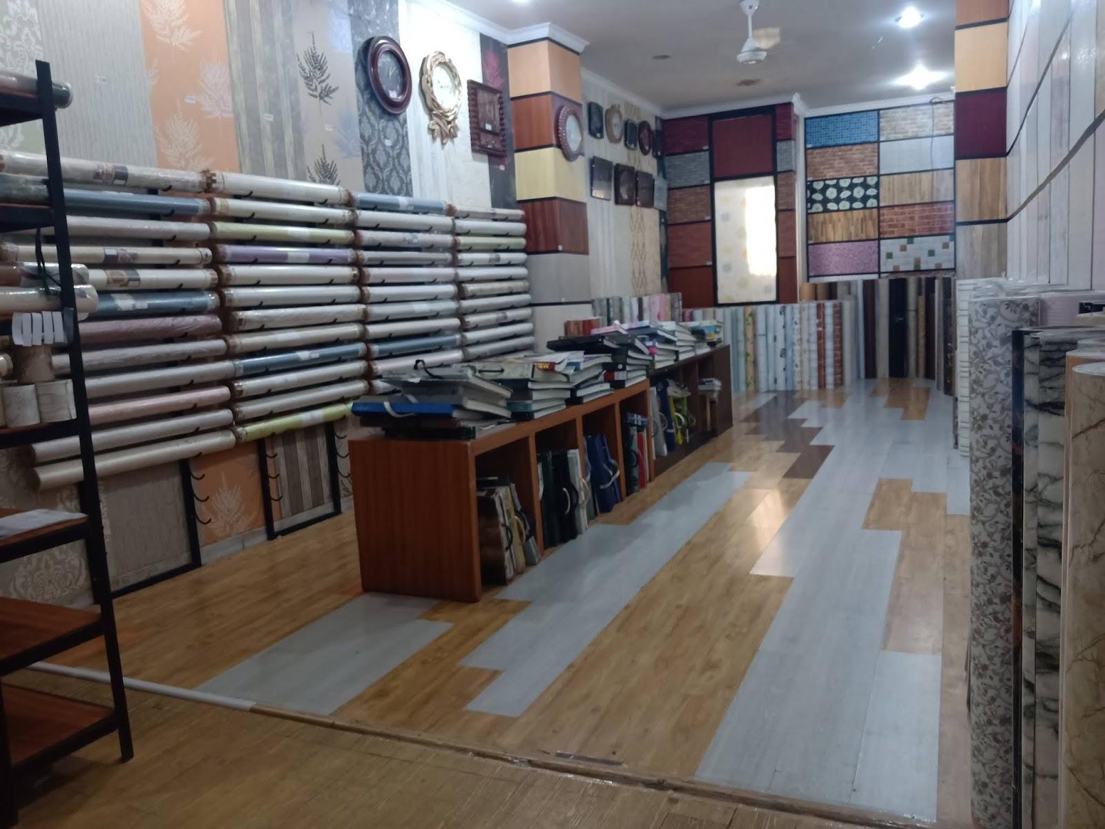 Toko Interior Eksterior Desain Wallpaper Kaca Untuk