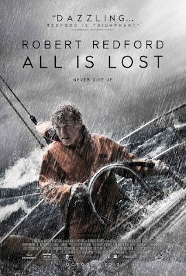 Poster Of Hollywood Film All Is Lost (2013) In 300MB Compressed Size PC Movie Free Download At worldfree4u.com