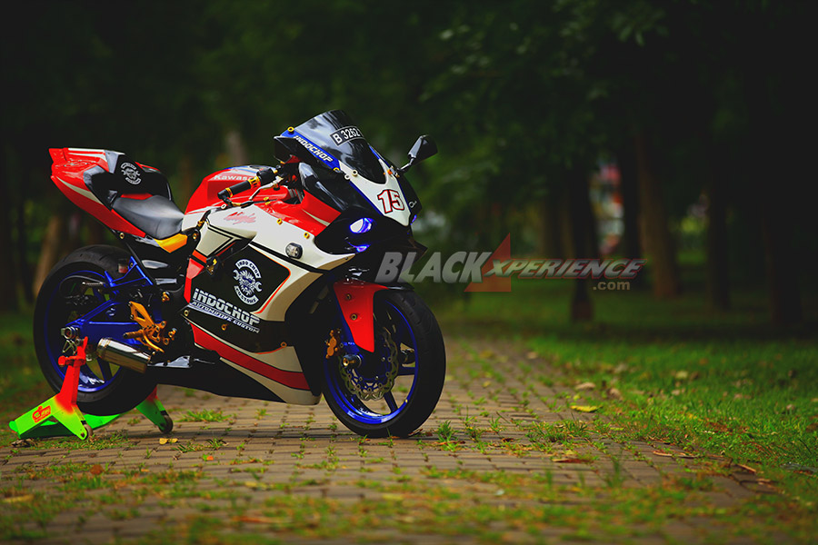 Modifikasi Motor Kawasaki ala Racing