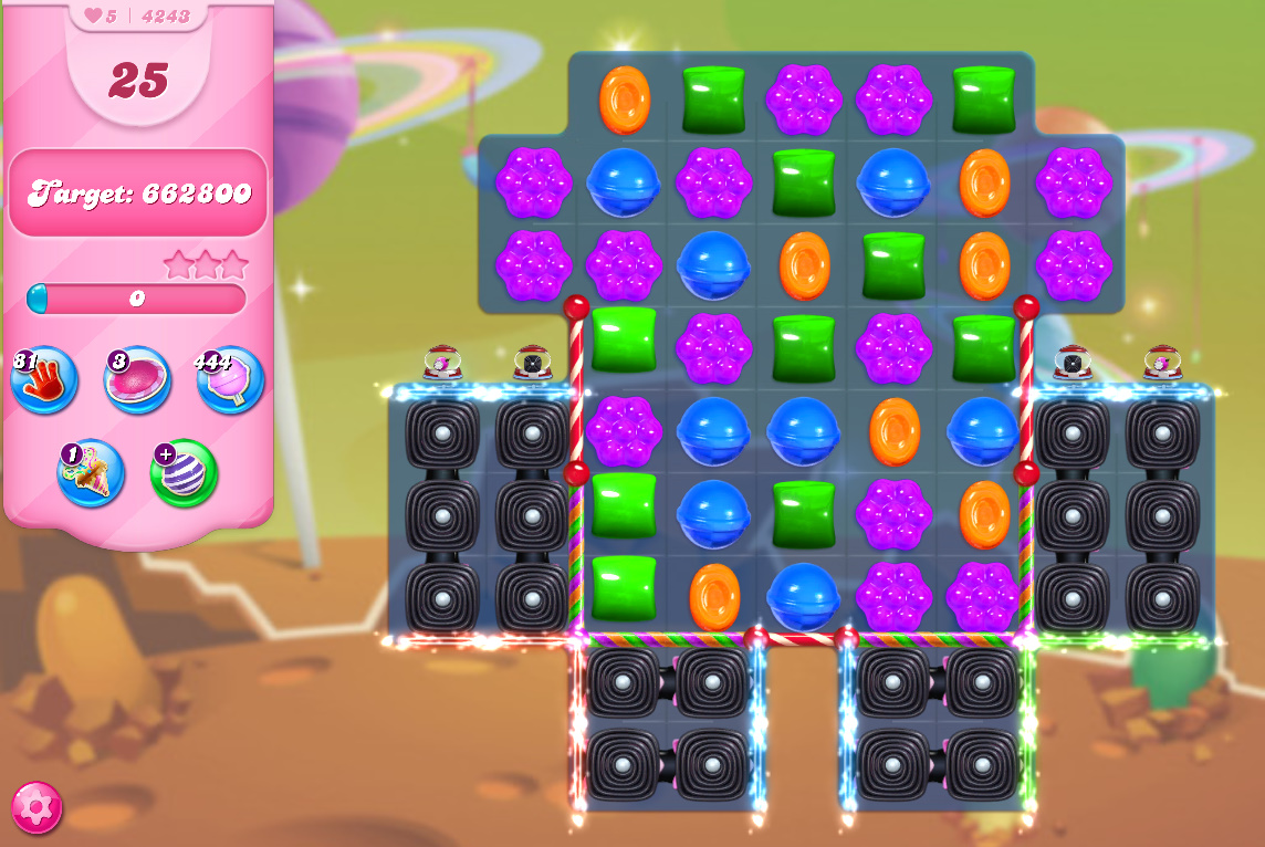 Candy Crush Saga level 4243