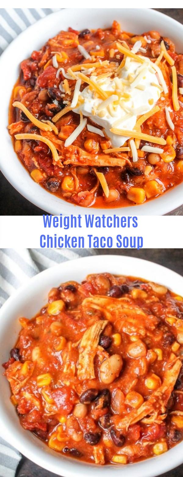 Weight Watchers Chicken Taco Soup