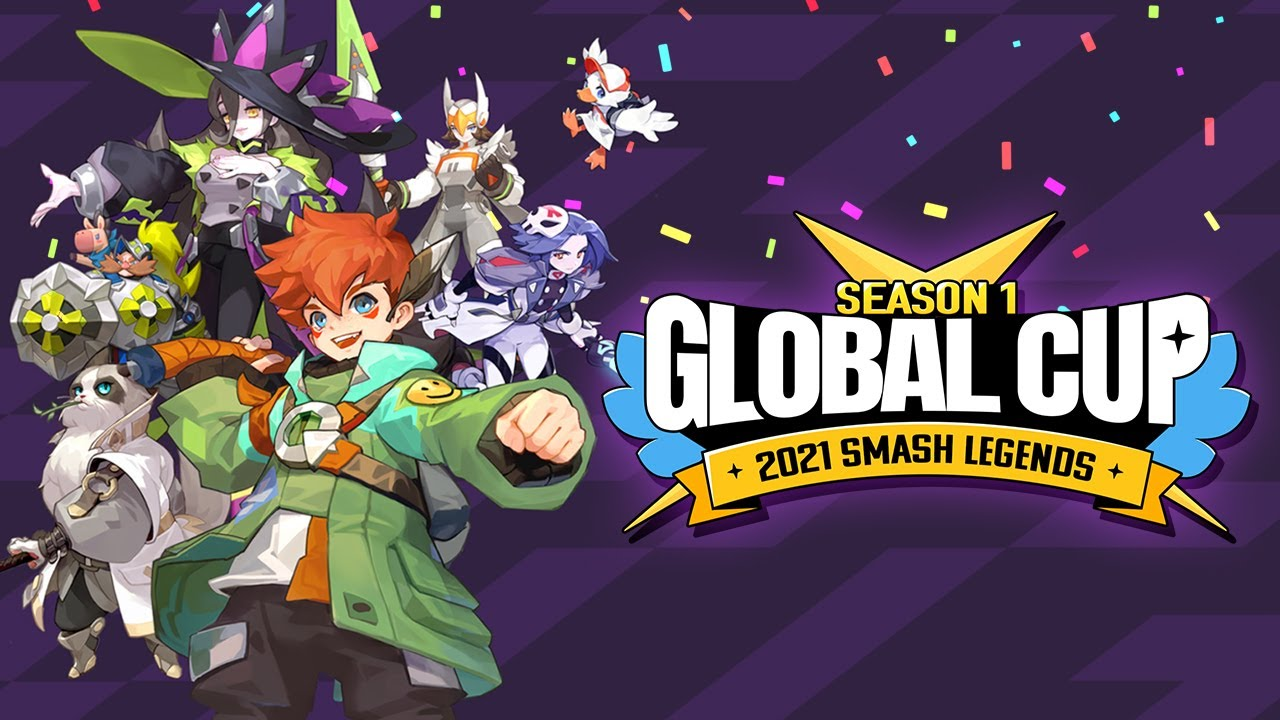 LINE Games' SMASH LEGENDS Holds its 1st Global Cup Tournament