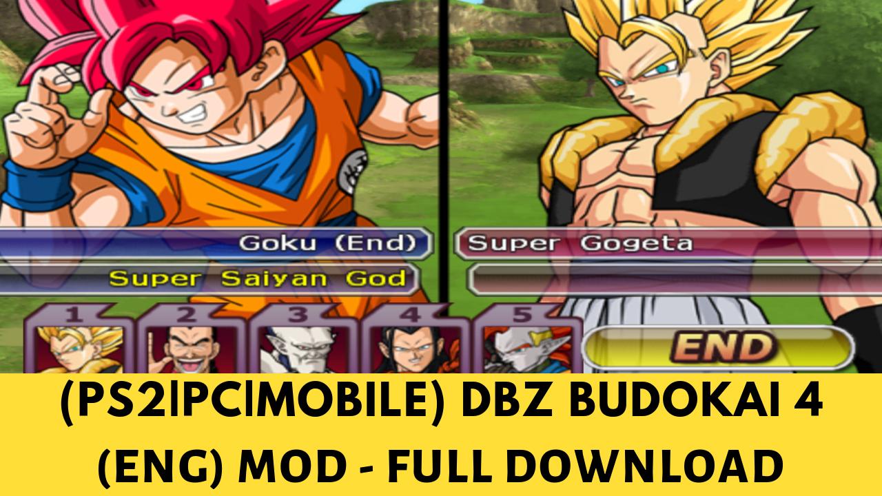 dragon ball budokai tenkaichi 4 pcsx2 download