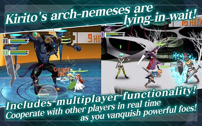 Sword Art Online Memory Defrag English Version MOD Unlimited Money v1.7.3 Apk Android Terbaru