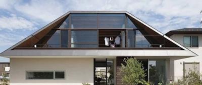 Model atap rumah minimalis gambar perisai