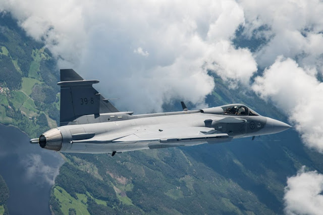 Gripen E maiden flight