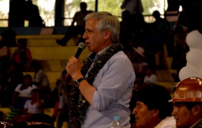 Frases del vicepresidente Alvaro Garcia Linera 2016