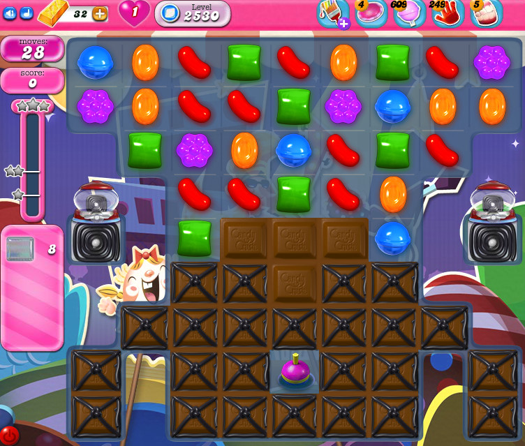 Candy Crush Saga level 2530